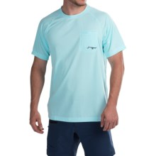 True Flies Turtle Bay II T-Shirt - UPF 30, Short Sleeve (For Men) in Nassua Blue - Closeouts