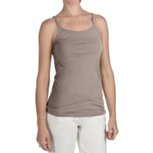 True Grit 40's Cotton Jersey Camisole (For Women) in Beach Grey - Closeouts