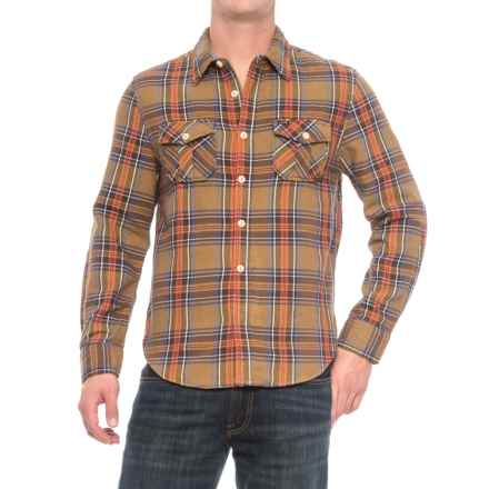 True Grit Apres Ski Plaid Shirt Jacket (For Men) in Brown - Closeouts