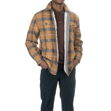 True Grit Baja Shirt Jacket (For Men) in Tobacco - Closeouts