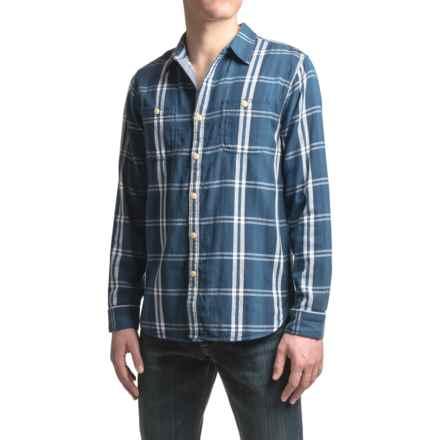 True Grit Big Sur Double Light Indigo Shirt - Long Sleeve (For Men) in Denim - Closeouts