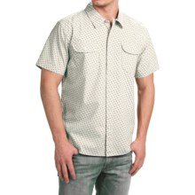 True Grit Brushed Cotton Shirt - Short Sleeve (For Men) in Natural - Closeouts
