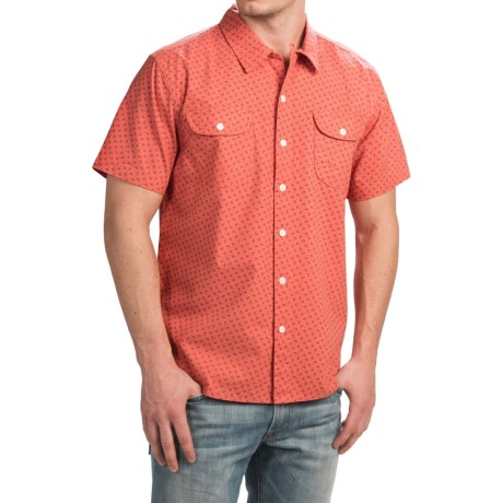 True Grit Brushed Cotton Shirt Short Sleeve (For Men)