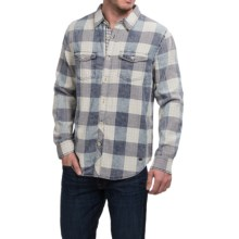 True Grit Buffalo Checks Shirt - Fully Lined (For Men) in Indigo - Closeouts