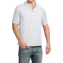 True Grit Buffalo Nickel Jersey Polo Shirt - Short Sleeve (For Men) in White - Closeouts