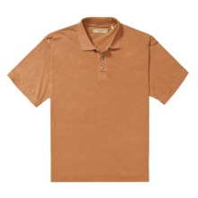 True Grit Buffalo Nickel Polo Shirt - Ring-Spun Cotton, Short Sleeve (For Men) in Burnt Orange - Closeouts