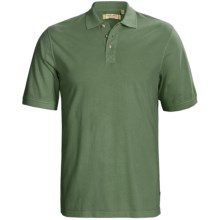 True Grit Buffalo Nickel Polo Shirt - Ring-Spun Cotton, Short Sleeve (For Men) in Vintage Sage - Closeouts