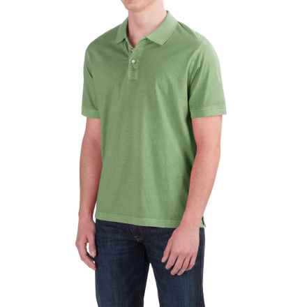 True Grit Buffalo Nickel Polo Shirt - Short Sleeve (For Men) in Army - Closeouts