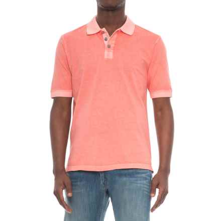True Grit Buffalo-Nickel Polo Shirt - Short Sleeve (For Men) in Coral - Overstock