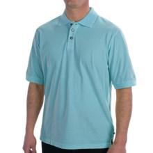 True Grit Buffalo Nickel Polo Shirt - Short Sleeve (For Men) in Cryatal Blue - Closeouts