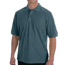 True Grit Buffalo Nickel Polo Shirt - Short Sleeve (For Men) in Industrial Blue - Closeouts