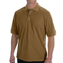 True Grit Buffalo Nickel Polo Shirt - Short Sleeve (For Men) in Old Gold - Closeouts