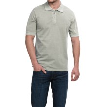 True Grit Buffalo Nickel Polo Shirt - Short Sleeve (For Men) in Smoke - Closeouts