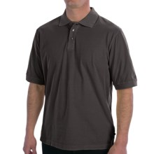 True Grit Buffalo Nickel Polo Shirt - Short Sleeve (For Men) in Vintage Black - Closeouts