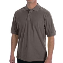 True Grit Buffalo Nickel Polo Shirt - Short Sleeve (For Men) in Vintage Grey - Closeouts