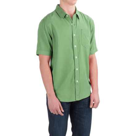 True Grit Cabo Shirt - Short Sleeve (For Men) in Limelight - Closeouts