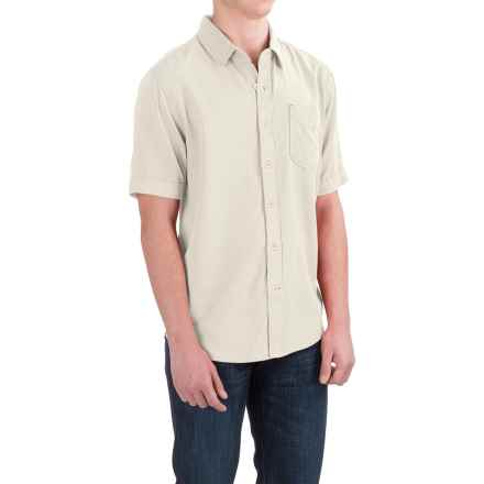 True Grit Cabo Shirt - Short Sleeve (For Men) in Vintage Chalk - Closeouts
