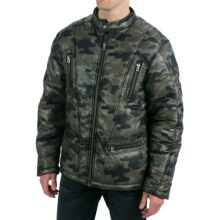 True Grit Camo Puffer Jacket - Insulated (For Men) in Olive - Closeouts