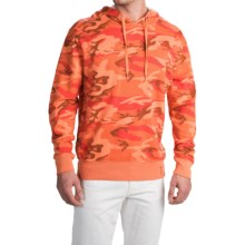 True Grit Camo Pullover Hoodie - Lightweight (For Men) in Vintage Mango - Closeouts