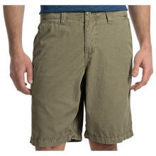 True Grit Canvas Chino Shorts - Stonewashed (For Men) in Canteen - Closeouts