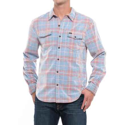 True Grit Canyon Cord Shirt - Long Sleeve (For Men) in Bluewater Blue - Closeouts