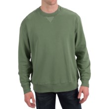 True Grit Cashmere Fleece Sweatshirt (For Men) in Alpine Green - Closeouts