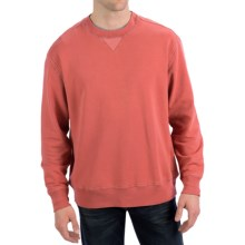 True Grit Cashmere Fleece Sweatshirt (For Men) in Faded Red - Closeouts