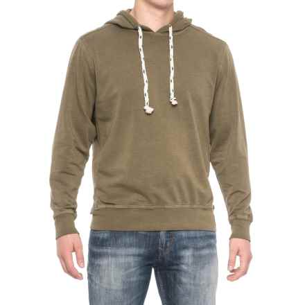 True Grit Cashmere-Soft Heather Fleece Hoodie (For Men) in Moss - Closeouts