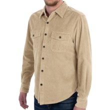 True Grit Corduroy Shirt - Long Sleeve (For Men) in Winter White - Closeouts