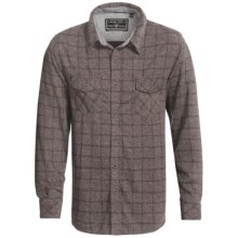 True Grit Crossroads Classic Plaid Shirt - Long Sleeve (For Men) in Grey - Closeouts