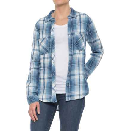 True Grit Double-Weave Work Shirt - Long Sleeve (For Women) in Chambray - Closeouts