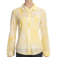 True Grit Essential Shirt - Long Sleeve (For Women) in Honey - Closeouts