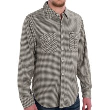 True Grit Flannel Shirt - Long Sleeve (For Men) in Black - Closeouts