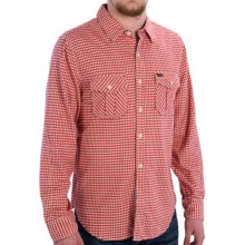 True Grit Flannel Shirt - Long Sleeve (For Men) in Red - Closeouts