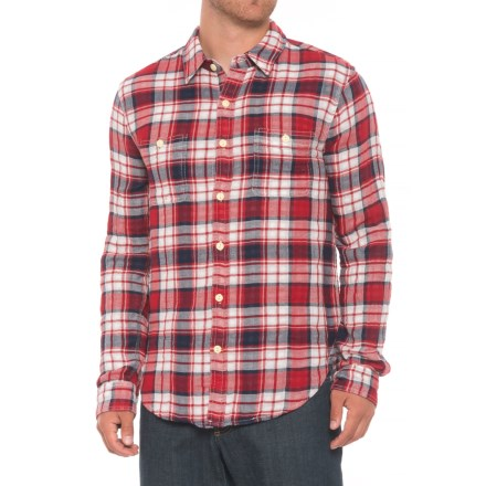 134754465dd7 True Grit Hampton Plaid Shirt - Long Sleeve (For Men) in Red - Overstock