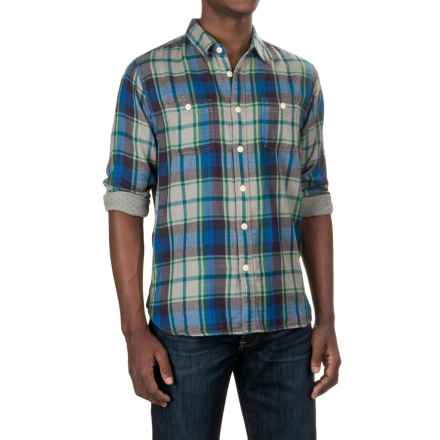 True Grit Harley Flannel Shirt - Long Sleeve (For Men) in Vintage Green - Closeouts