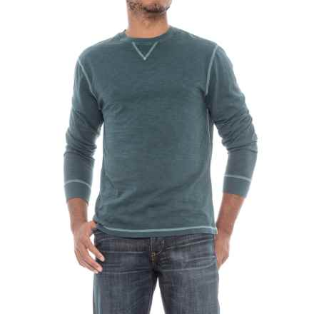 True Grit Heritage Shirt - Crew Neck, Long Sleeve (For Men) in Industrial Blue - Closeouts