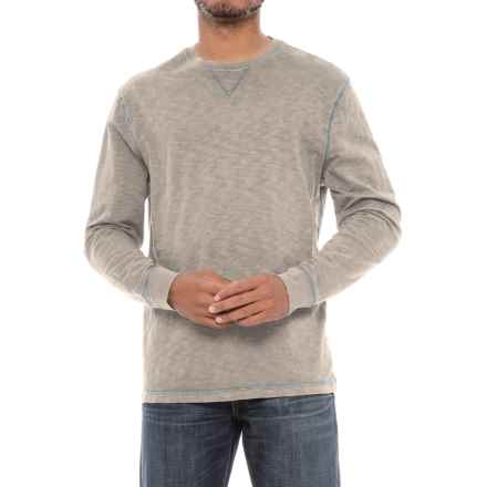 True Grit Heritage Shirt - Crew Neck, Long Sleeve (For Men) in Pebble - Closeouts