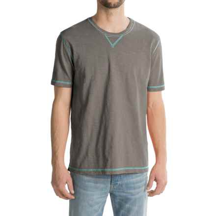 True Grit Heritage Shirt - Short Sleeve (For Men) in Vintage Grey - Closeouts