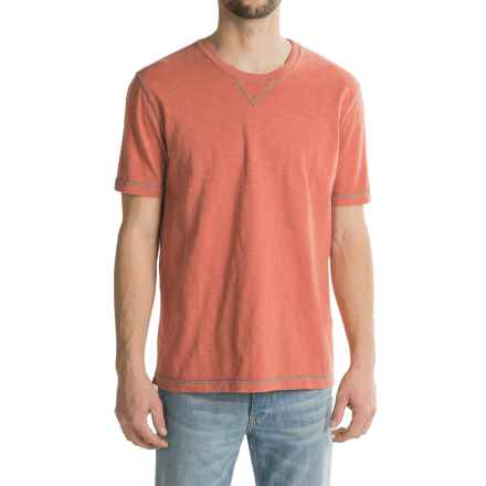 True Grit Heritage Shirt - Short Sleeve (For Men) in Washed Red - Closeouts
