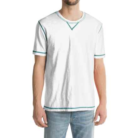 True Grit Heritage Shirt - Short Sleeve (For Men) in White - Closeouts