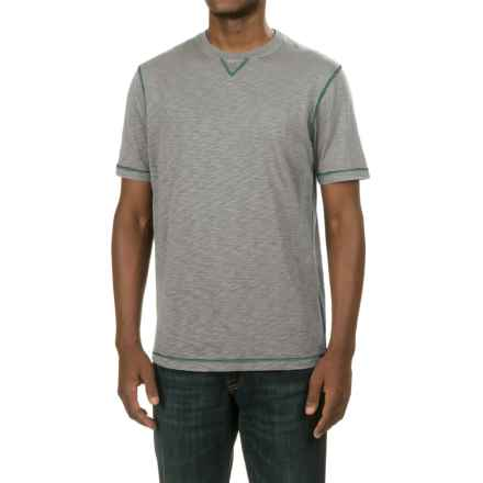 True Grit Heritage Slub T-Shirt - Short Sleeve (For Men) in Vintage Grey - Closeouts