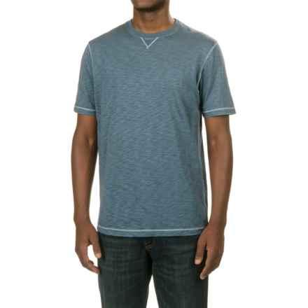 True Grit Heritage Slub T-Shirt - Short Sleeve (For Men) in Vintage Indigo - Closeouts