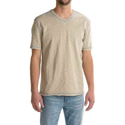 True Grit Heritage T-Shirt - Short Sleeve (For Men) in Pebble - Closeouts