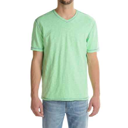 True Grit Heritage T-Shirt - Short Sleeve (For Men) in Surf Green - Closeouts