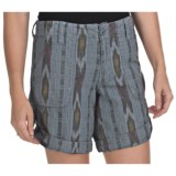 True Grit Ikat Shorts - Roll Bottom (For Women)