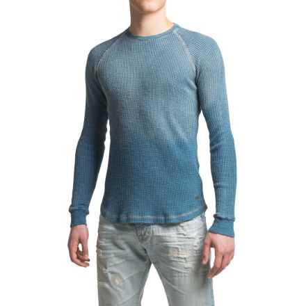 True Grit Indigo Thermal Shirt - Long Sleeve (For Men) in Denim - Closeouts