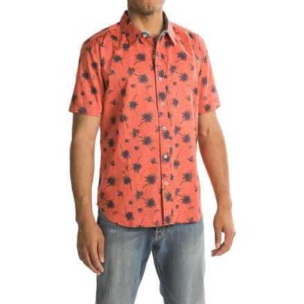 True Grit Island Fever Shirt - Short Sleeve (For Men) in Red - Closeouts