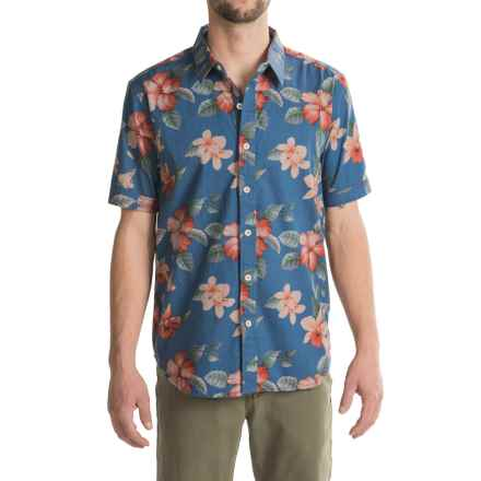 True Grit Island Time Shirt - Short Sleeve (For Men) in Blue - Closeouts