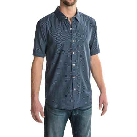 True Grit Las Brisas Shirt - Short Sleeve (For Men) in Blue - Closeouts